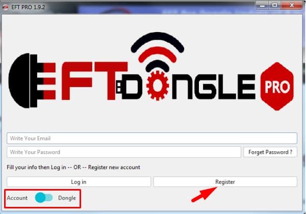 Click Register