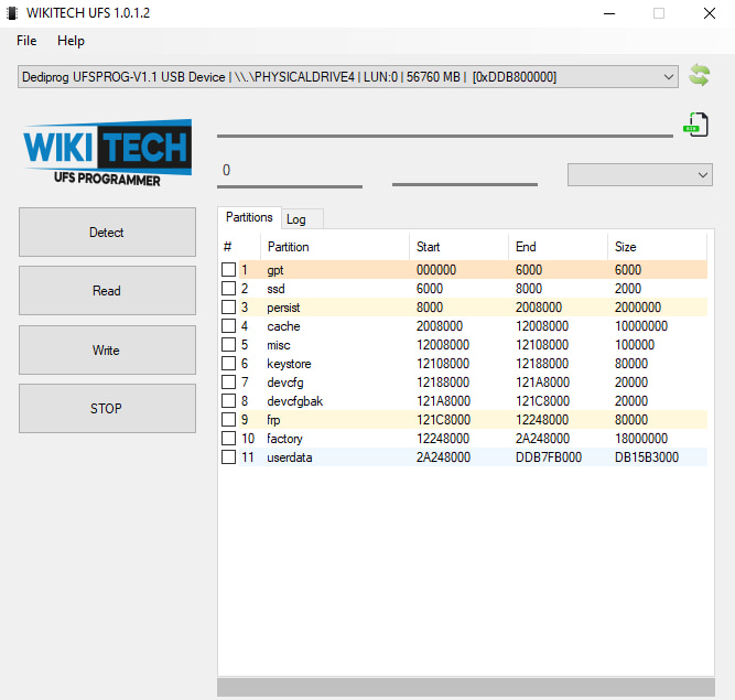 Detecting partitions with Wikitech software