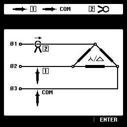 Схема підключення приладу