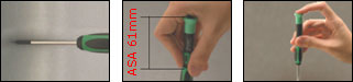 Precision Slotted Screwdriver (3.0 x 100 mm) Pro'sKit 1PK-081-S7