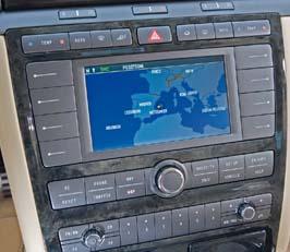 VW Phaeton 2008 monitor