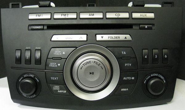 Головное устройство Mazda 6