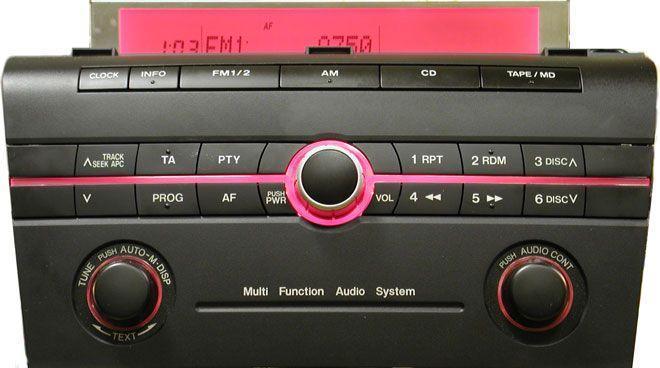 Головное устройство Mazda 3