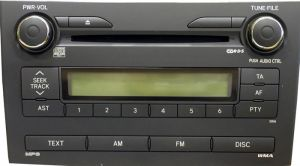 Toyota Corolla 2007/2008 head unit