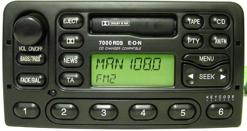 Autorradio Ford Visteon 7000