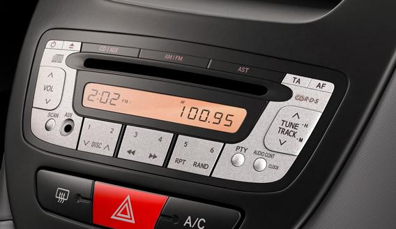 Головное устройство Toyota Aygo