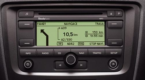 Skoda Cruise autorradio