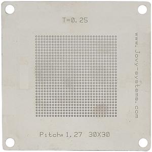 Pitch: 1,27/T=0,25/30x30