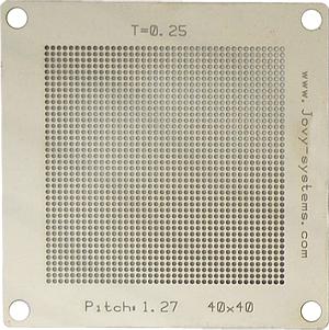 Pitch: 1,27/T=0,25/40x40