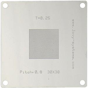Pitch: 0,8/T=0,25/30x30