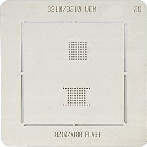 BGA-трафарет 3310/3210 UEM 8210/A188 FLASH
