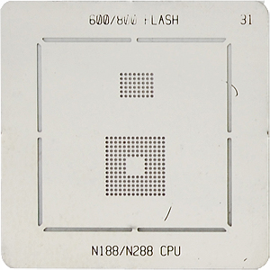 BGA-трафарет 600/800 FLASH N188/N288 CPU