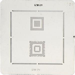 BGA-трафарет 6230 UEM 6230 CPU
