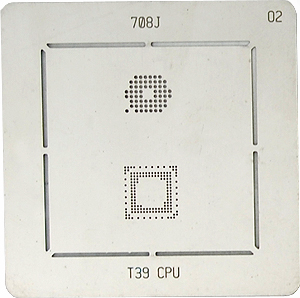 BGA-трафарет 708J T39 CPU