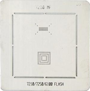 BGA-трафарет 7210 MF 7210/7250/6100 FLASH