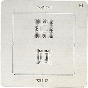 BGA-трафарет 7650 CPU 7260 CPU