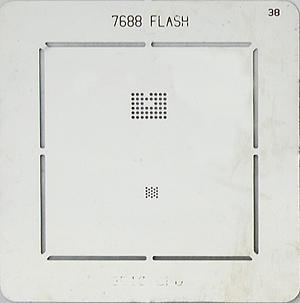 BGA-трафарет 7688 FLASH 3510 CPU