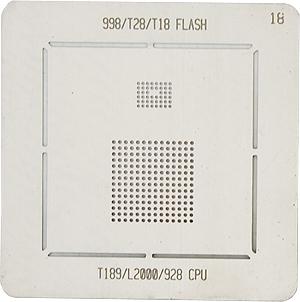 BGA-трафарет 998/T28/T18 FLASH T189/L200/928 CPU