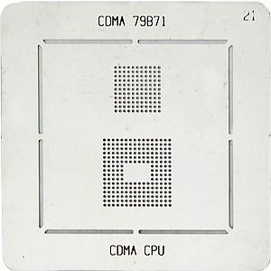 BGA-трафарет CDMA 79B71 CDMA CPU