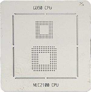BGA-трафарет GD90 CPU NEC2100 CPU