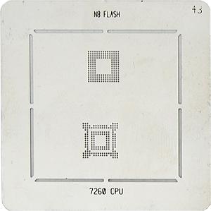 BGA-трафарет N8 FLASH 7260 CPU