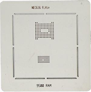 BGA-трафарет NEC616 FLASH 9500 RAM