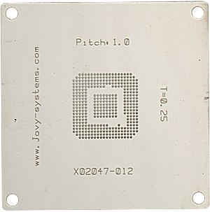 X02047-012 BGA stencil