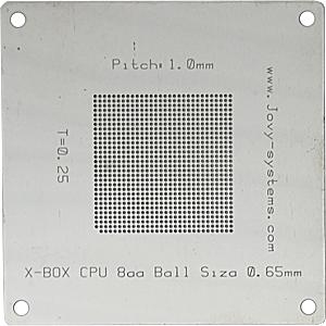 CPU BGA stencil