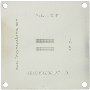 HYB18HS12321AF-13 BGA stencil
