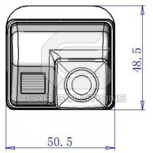 Размеры камеры для Mazda