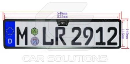 License plate camera dimensions