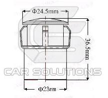 Размеры автомобильной камеры
