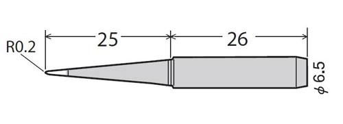 Паяльне жало GOOT PX-60RT-LB