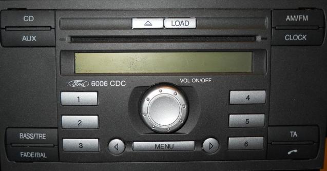 6006CDC Ford Head Unit