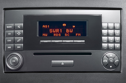 Mercedes-Benz Audio 20 head unit