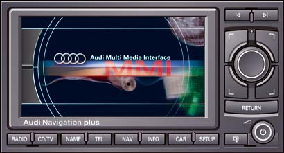 Audi Navigation System Plus RNS-E