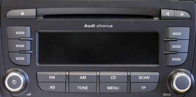 Audi Chorus GEN II+