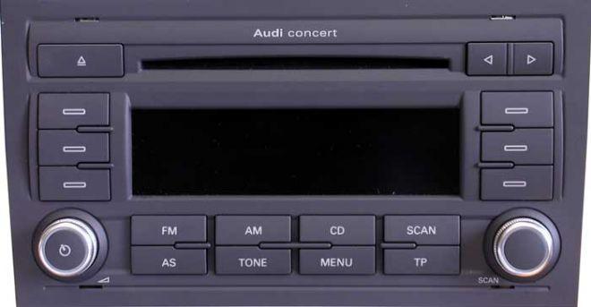 Audi Concert GEN II+