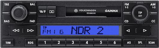 Головное устройство Volkswagen Gamma