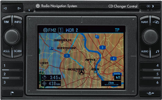 Head unit Volkswagen MFD