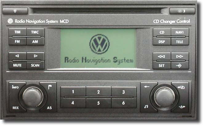 Head unit Volkswagen MCD