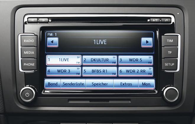 Монитор Volkswagen RCD 510