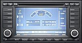 Volkswagen Touareg RNS2 system