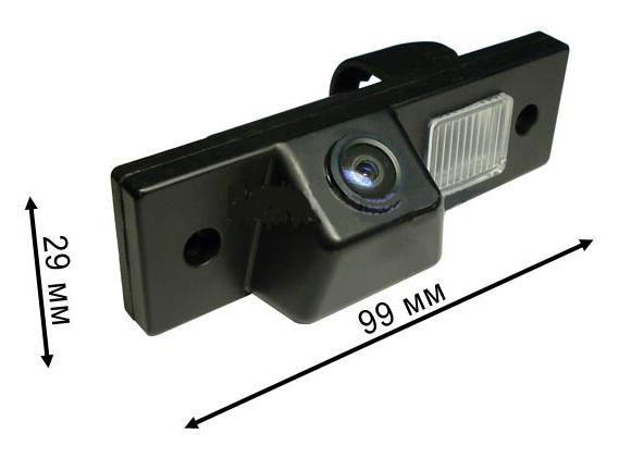 Chevrolet reverse camera dimensions