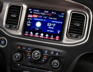 Dodge Charger head unit