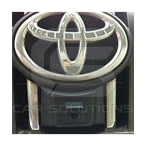 Установка камеры переднего вида в значке Toyota