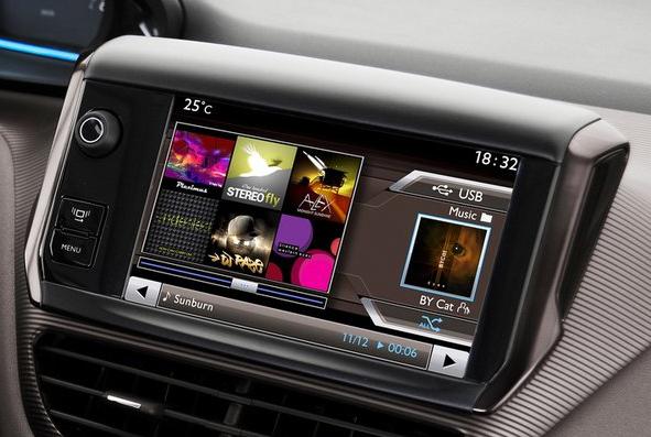 Головний пристрій Peugeot 2008
