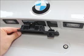Установка камеры заднего вида для BMW