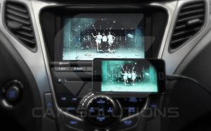 Дублирование изображения с Samsung на штатном мониторе