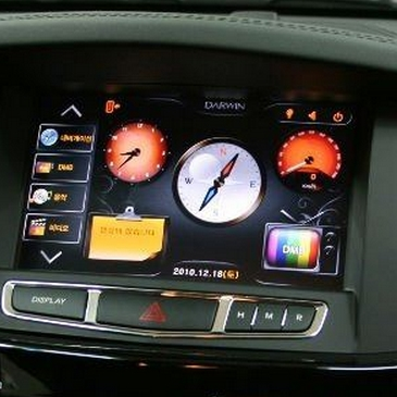 Touch screen panel installation on the OEM display